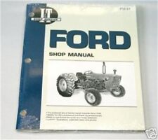 Ford 2000 3000 4000 3 Cyl. 1965-1975 Tractor I&T Shop Manual Fo31