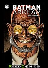 BATMAN ARKHAM HUGO STRANGE GRAPHIC NOVEL Collects The Villains Greatest Stories