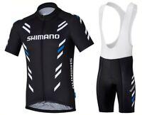 2019 Men Cycling Jersey Bib Short Kit Bicycle Bike Shirt Team Shimano Clothing