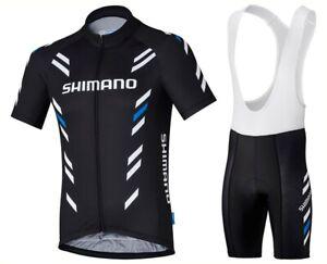 2021 Men Cycling Jersey Bib Short Kit Bicycle Bike Shirt Team Shimano Clothing