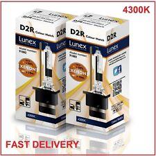 2 x D2R Genuine LUNEX XENON 4300KHID BULB compatible with 85126 66050 66250