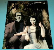 THE MUNSTERS TV /  8 x 10  COLOR  PHOTO