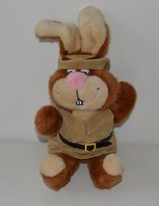Rare peluche doudou LAPIN NESQUIK QUICKY Mattel Publicitaire