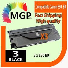 3x Compatible E30 E31 Black Toner Cartridge for Canon  FC210 FC220 FC220S PC980