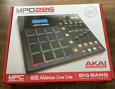 More details for akai mpd226 usb/midi pad controller inc. ableton live lite software
