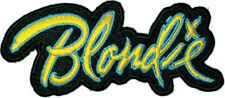 Official BLONDIE Debbie Harry - Logo - Iron On Patch