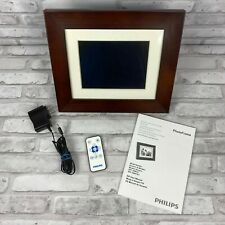 """Philips SPF 3408/G7 8"""" Digital Photo Frame LCD Panel With Remote and Manual"""