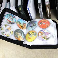 350 Disc CD DVD Organizer Holder Storage Case PU Bag Wallet Storage Ring Binder