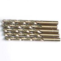 """23/64""""x4-7/8"""" Cobalt Drill Bits Set HSS M35 Jobber Length Metal Drill Bit 5 Pack"""