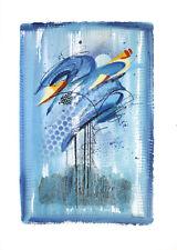 Ibo Dreyer Water Poster Kunstdruck Bild 70x50cm