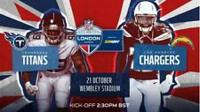 Titans vs Chargers London tickets