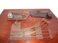 AMERICAN FLYER O PREWAR SWITCHES & Ives R.R Switch Parts or repair