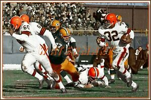 JIM BROWN CLEVELAND BROWNS v. PACKERS PHOTO/PRINT (comes in 4 sizes)