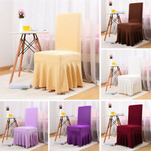 Stretch Spandex Chair Covers Wedding Party Banquet Dining Seat Cover Slipcover