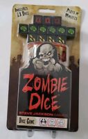 Steve Jackson Games Zombie Dice 13 count  Apocalyptic Game for 2+ Players