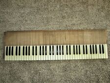 Full Set Antique Piano Keys Victorian Parlor Pump Reed Organ Keyboard Part Art!