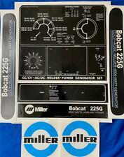 Miller Electric Arc Welders 225g 7 Piece Decalwrap Control Plate Amp Decals