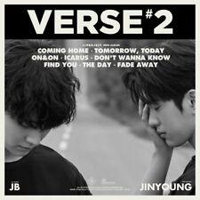 JJ PROJECT VERSE 2 2nd Album Random Ver CD+Photobook+3p Card+Lyrics+Retro Poster