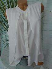 Damen Bluse Heine Gr. 40 bis 44 creme weiß (525) weich fallend NEU