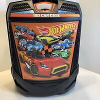 100 Hot Wheels Car Carrying Case Vehicles Matchbox DieCast Organizer Storage Box