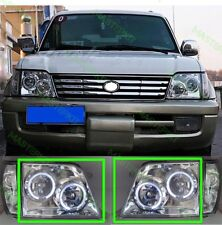 LED Headlights Headlamp For Toyota LAND CRUISER PRADO LC 90 Set LH + RH 96-02