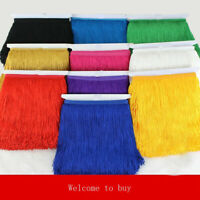 Sibo 20cm Wide Lace Trim Tassel Fringe Trimming Sewing Accessories Fabric 1yard