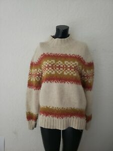 Timberland Classic Fit Men's XL Heavy Knit Long Sleeve Wool Sweater