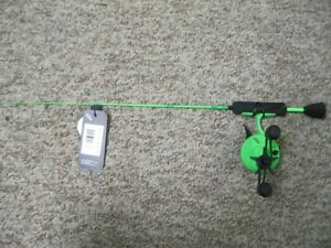 "13 FISHING RADIOACTIVE PICKLE 2.0 27"" ULTRA LIGHT LEFT HANDED ICE COMBO"