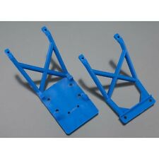Traxxas Stampede 2wd Monster Truck TRA3623X Front and Rear Skid Plate, Blue