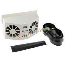 Solar Powered refrigeración Vent ventana de coche Ventilador Ventilador Aire