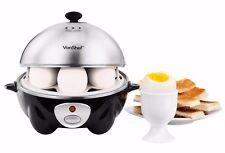 VonShef 7 Egg Electric Eggs Boiler Automatic Cooker Steamer Poacher  Steel
