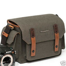 New Herringbone DSLR Camera Shoulder Bag Papas Medium Olive For DSLR Camera Bag