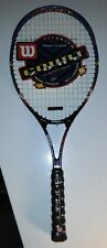 Vintage Wilson Court zone Titanium Tennis racket 27 41/2 NEW With Tags NOS