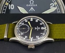 OMEGA DIRTY DOZEN BRITISH MILITARY MOD VINTAGE WWW 15J MECHANICAL-30t2- WATCH