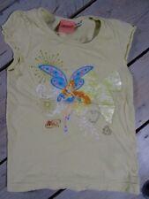 T-shirt Manches courtes vert anis imprimé WINX CLUB Taille 4 Ans