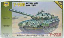Zvezda T-72A Russian Main Battle Tank Model Kit 1/35 ZVE3552-W