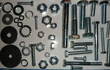 BULK PACK, OVER 1,000 PIECES!, M4 TO M12, METRIC, SETS, BOLTS, NUTS & WASHERS.