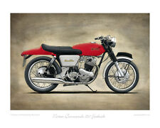 Norton Commando 750 Fastback - Limited Edition Collectors Print by Steve Dunn