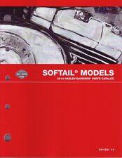 HARLEY-DAVIDSON Teilebuch 2014 Softail-Modelle Fat Boy Special FLSTFB 99455-14