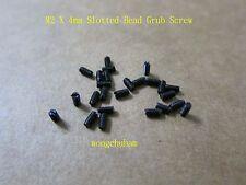25 Pcs Slotted Head Grub Screw - M2 x 4mm