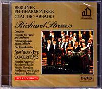 ABBADO: STRAUSS Burleske Don Juan Rosenkavalier CD Martha ARGERICH Renee FLEMING