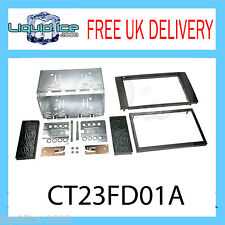 CT23FD01A FORD FIESTA 2006 - 2008 DOUBLE DIN FASCIA FACIA ADAPTOR PANEL KIT