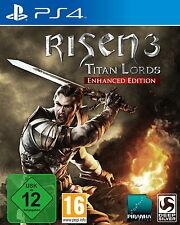 Risen 3-Titan Lords (Enhanced Edition) (Sony PlayStation 4, 2016) Neuf neuf dans sa boîte