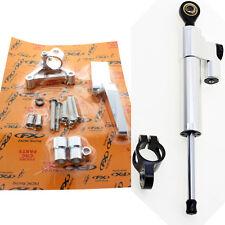 For DUCATI 696 796 795 Motorbike CNC Steering Damper Stabilizer Bracket Kits Set