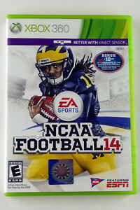 NCAA Football 14 (Xbox 360, 2013) Case is Damaged - Disc is MINT