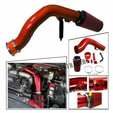 Oiled Cold Air Intake Kit Red For 03-07 Ford F250/F350 6.0L Powerstroke Diesel