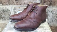 Men's Tan Leather Loake 1880 Wetherby Ankle Boot Size 9.5 Made In England