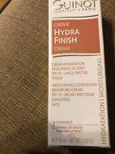 Guinot Hydra Finish Cream SPF 15 Moisturising Complexion Enhancing 30ml 0.88oz N
