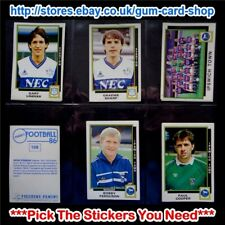 ☆ Panini Football 86  (Stickers 100 - 199) (GOOD) *Select the Stickers You Need*