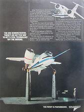 2/1981 PUB GRUMMAN AEROSPACE NASA AMES 698 DEMONSTRATOR V/STOL ORIGINAL AD